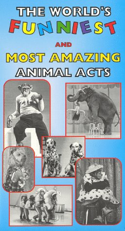 9781892562142: The World's Funniest and Most Amazing Animal Acts [VHS]