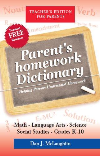 Parent's Homework Dictionary: Dan McLaughlin, Dan
