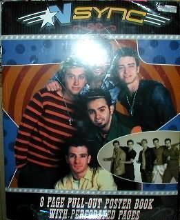9781892678522: N'Sync No Strings Attached Poster Book