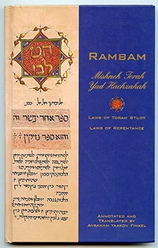 9781892692061: Mishneh Torah Yad Hachzakah / Laws of Torah Study, Laws of Teshuvah- Repentance