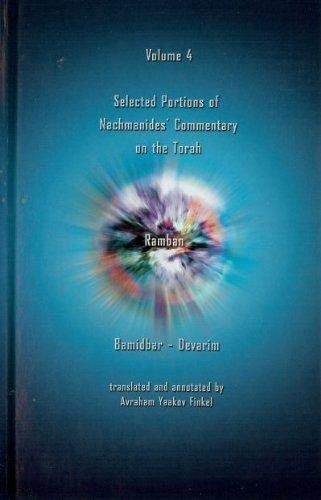 Ramban Selected Portions of Nachmanides' Commentary on: Ramban,