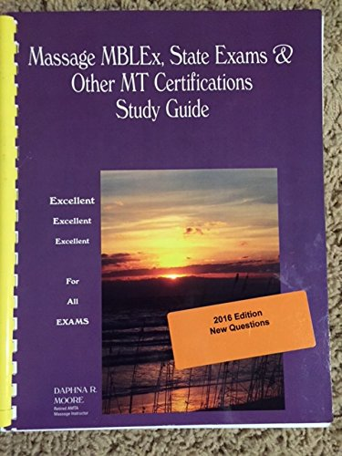 9781892693211: Massage MBLEx, State Exams & All MT Certifidcations Study Guide