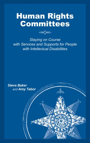 9781892696366: Human Rights Committees: Staying on Course with Services and Supports for People with Intellectual Disabilities