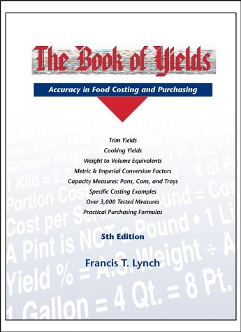 9781892735065: The Book of Yields, 5th Edition