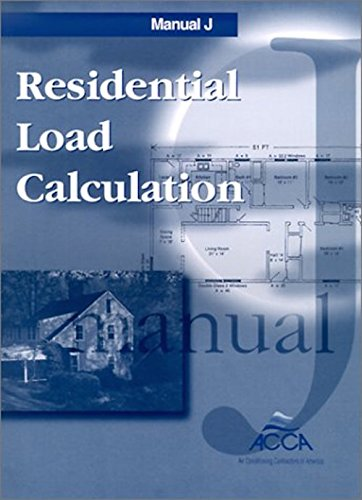 Manual J Residential Load Calculation Manual Guide