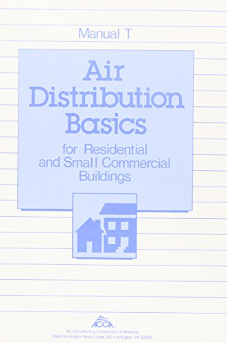 9781892765062: Manual T: Air Distribution Basics for Residential & Small Commercial Buildings
