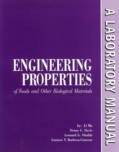 9781892769008: Engineering Properties of Foods and Other Biological Materials