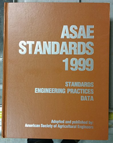 9781892769053: Asae Standards 1999: Standards Engineering Practices Data (Asabe Standards (American Society of Agricultural Engineers))