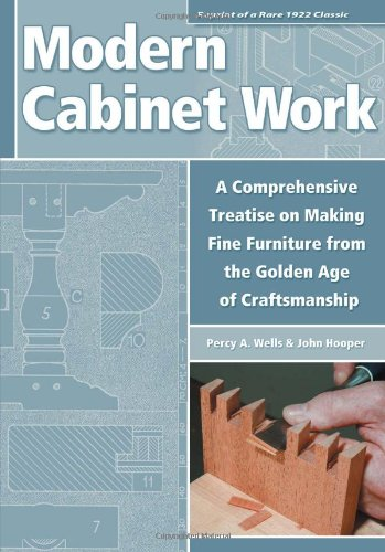 Modern Cabinet Work: Furniture & Fitments: Percy A. Wells/