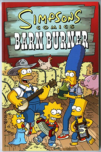 9781892849113: Simpsons Comics : Barn Burner
