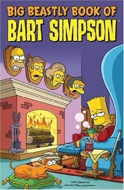 9781892849199: Big Beastly Book of Bart Simpson
