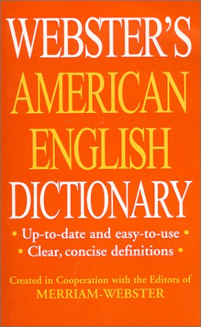 9781892859112: Webster's American English Dictionary