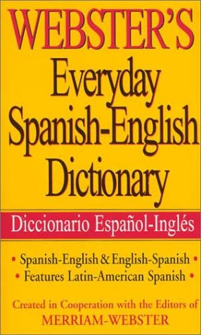 9781892859334: Webster's Everyday Spanish-English Dictionary (Spanish Edition)