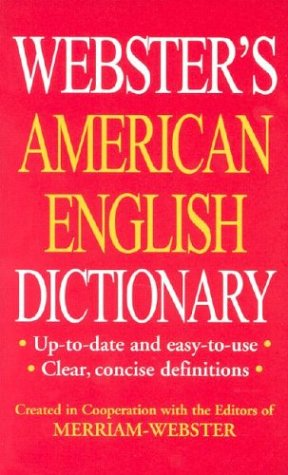 9781892859396: Webster's American English Dictionary/Thesaurus