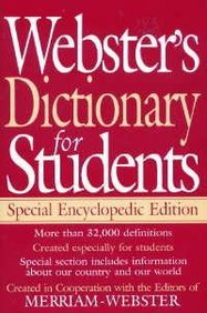 9781892859587: Webster's Dictionary for Students: Special Encyclopedic Edition