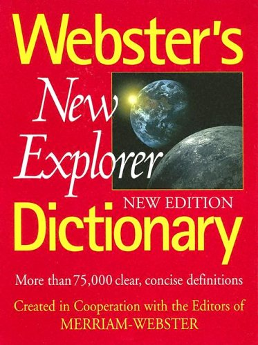 9781892859761: Webster's New Explorer Dictionary