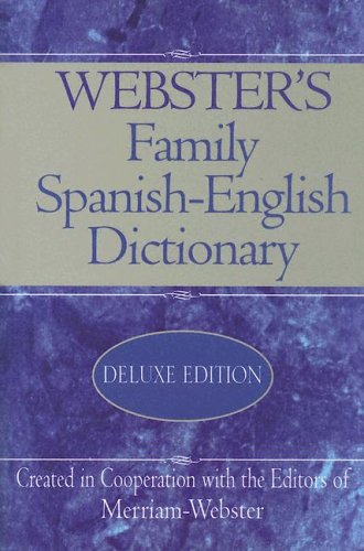 9781892859983: Webster's Family Spanish-English Dictionary (Spanish and English Edition)
