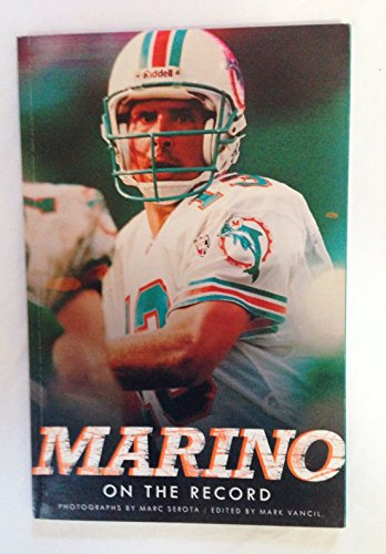 9781892866196: Marino: On the record