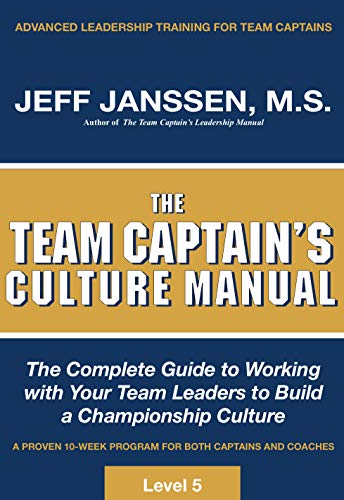9781892882080: The Team Captain's Culture Manual