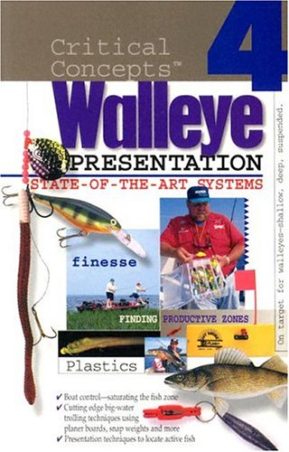 9781892947109: In-Fisherman Critical Concepts 4: State-of-the-Art Walleye Presentation Book (Critical Concepts: Walleye)