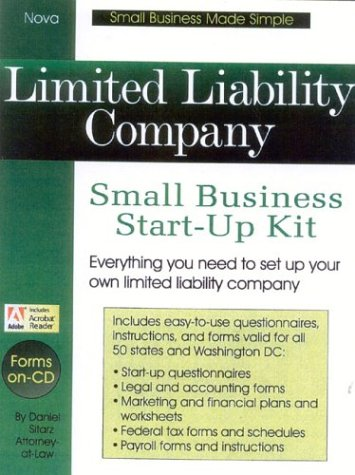 9781892949042: Limited Liability Company: Small Business Start-Up Kit (Small Business Made Simple)