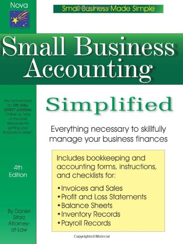 9781892949172: Small Business Accounting Simplified