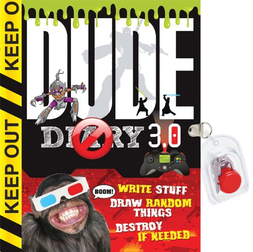 9781892951625: Dude Diary 3.0: Write Stuff Draw Random Things Destroy If Needed Again!