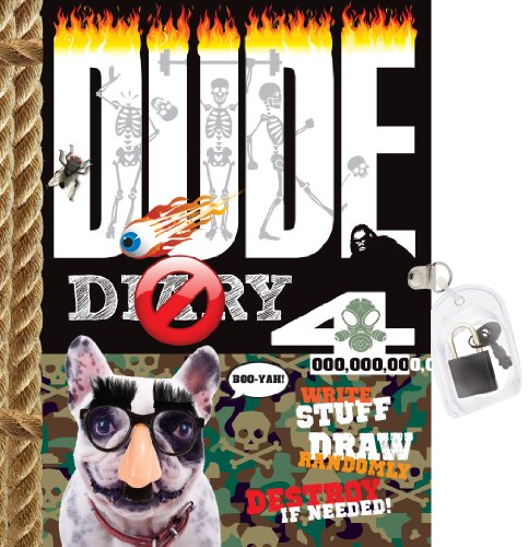 9781892951656: Dude Diary 4 [With Lock]