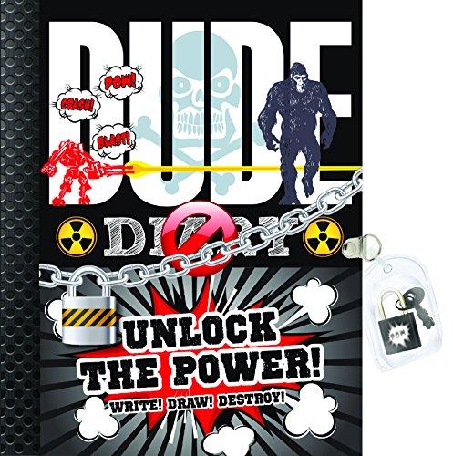 Dude Diary: Unlock the Power!: Write! Draw! Destroy!: Gill, Mickey; Gill, Cheryl