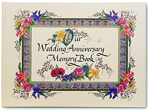9781892953001: Nittany Quill Watercolor Illustrated Wedding Anniversary Memory Book