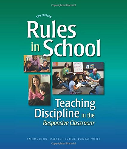 9781892989420: Rules in School: Teaching Discipline in the Responsive Classroom