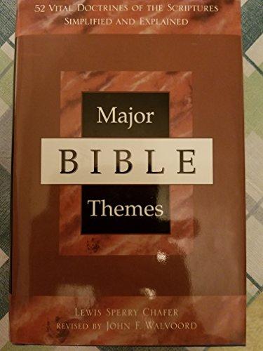 9781893065116: Major Bible Themes