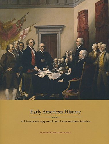 9781893103528: Early American History, A Literature Approach for Intermediate Grades