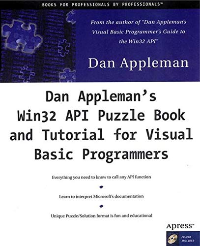 9781893115019: Dan Appleman's Win32 API Puzzle Book and Tutorial for Visual Basic Programmers