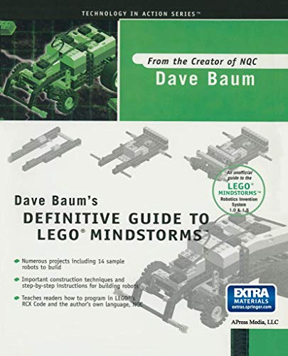 9781893115095: Dave Baum's Definitive Guide to Lego Mindstorms