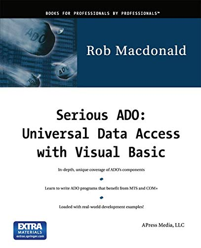 9781893115194: Serious ADO: Universal Data Access with Visual Basic