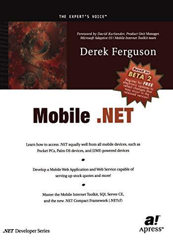 9781893115712: Mobile .NET