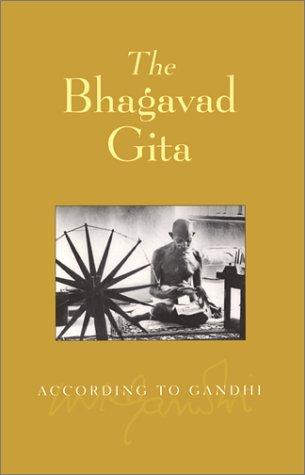 9781893163119: The Bhagavad Gita According to Gandhi