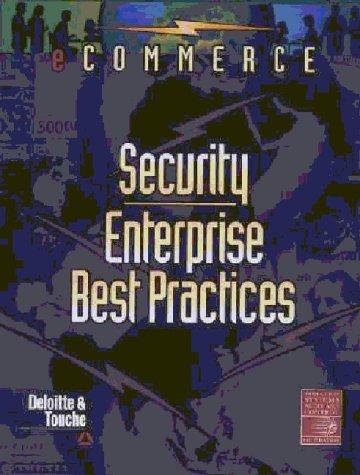 9781893209107: e-Commerce Security: Enterprise Best Practices