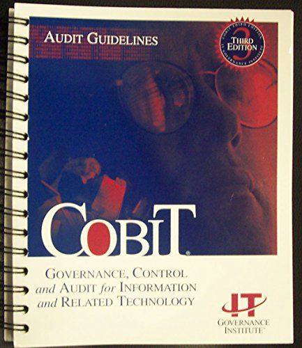 9781893209138: COBIT, 3rd Edition