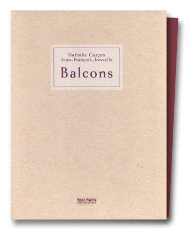 9781893263031: Balcons