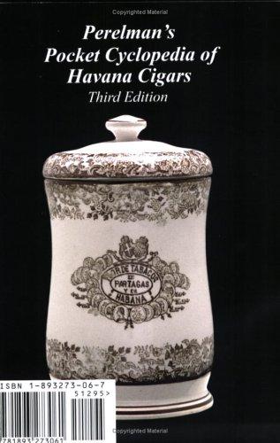 9781893273061: Perelman's Pocket Cyclopedia of Havana Cigars