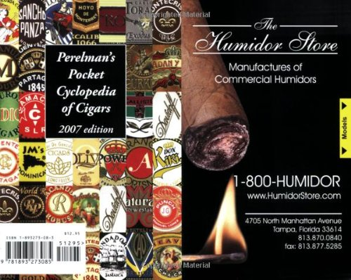 9781893273085: Perelman's Pocket Cyclopedia of Cigars - 2007 Edition