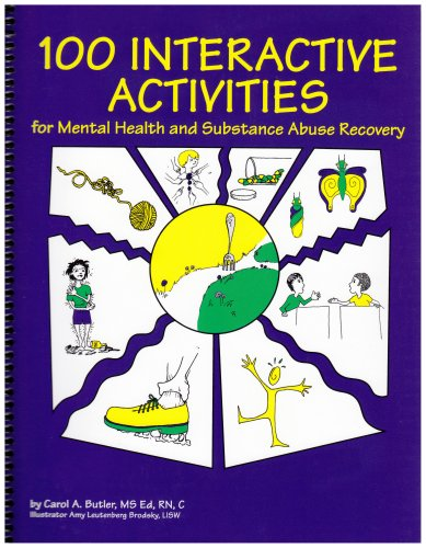 9781893277045: 100 Interactive Activities for Mental Health and Substance Abuse Recovery