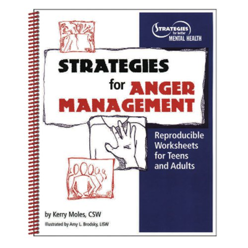 Strategies For Anger Management Reproducible Worksheets For Teens