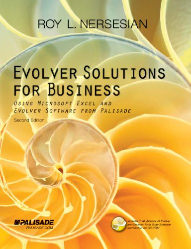 9781893281127: Evolver Solutions for Business