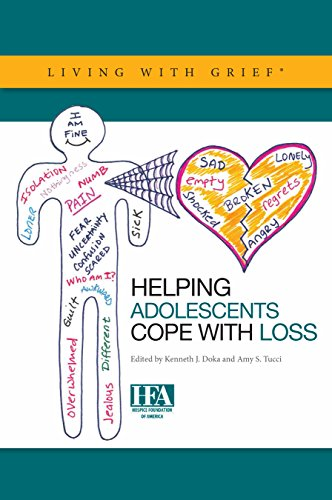 9781893349179: Helping Adolescents Cope with Loss