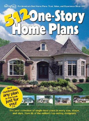 9781893536111: 512 One Story Home Plans (512 One Story Home Plans)