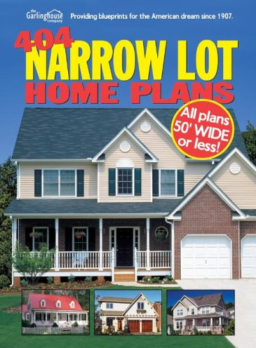 9781893536166: 404 Narrow Lot Home Plans