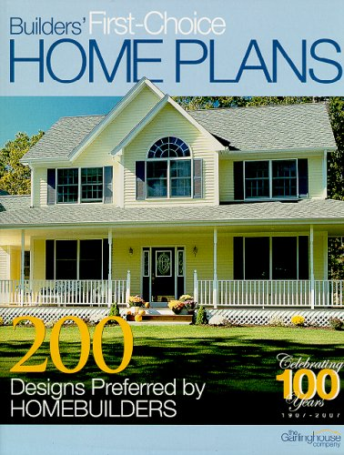 9781893536265: Builders First-Choice Home Plans